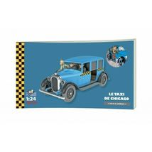 THE CHICAGO TAXI 1/24 VOITURE TINTIN CARS TINTIN IN AMERICA 2019 image 4