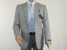 Men Adolfo Sport Coat Blazer English Houndstooth Windowpane C8125J Black... - $99.95