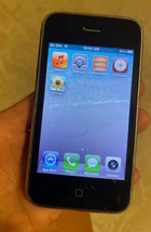 Apple iPhone 3GS 16GB White Smartphone (MC136LL/A) Works Locked - $24.50