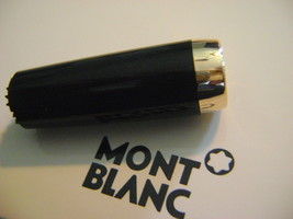 MontBlanc Boheme pen replacement parts Mont Blanc Upper Barrel  Black Gold - $91.98