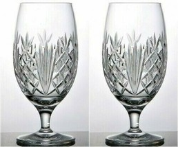 Waterford Tidmore Iced Beverage Glasses Set of 2 Glasses #1052619 New - $137.61