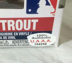 MIKE TROUT / AUTOGRAPHED L. A. ANGELS LOGO MLB FUNKO POP VINYL FIGURINE / COA image 6