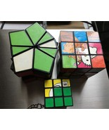 Mixed of 3 RUBIK'S CUBE Puzzles Games in excellent condition - $12.00