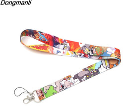 P2362 Dongmanli Cats and mice Lanyard For keychain ID Card Pass Gym Mobi... - $33.80