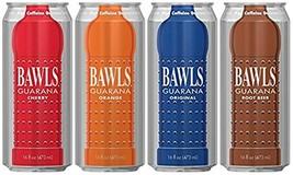 Bawls Energy Drink - 4 - 16oz Cans (4 Flavor Sampler) - $16.82
