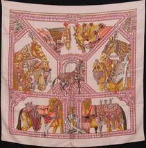 Hermes Carre 90 Scarf Stole La Danse Du Cheval Marwari by Annie Faivre S... - $9.287,50 MXN