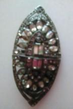 Coro Duette Art Deco 30s Rhinestone Pin Brooch Dress Clips Estate Pc 2.2... - $133.83