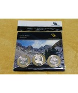2013 GREAT BASIN NATIONAL PARK QUARTER COIN 3 COIN SET - $21.95