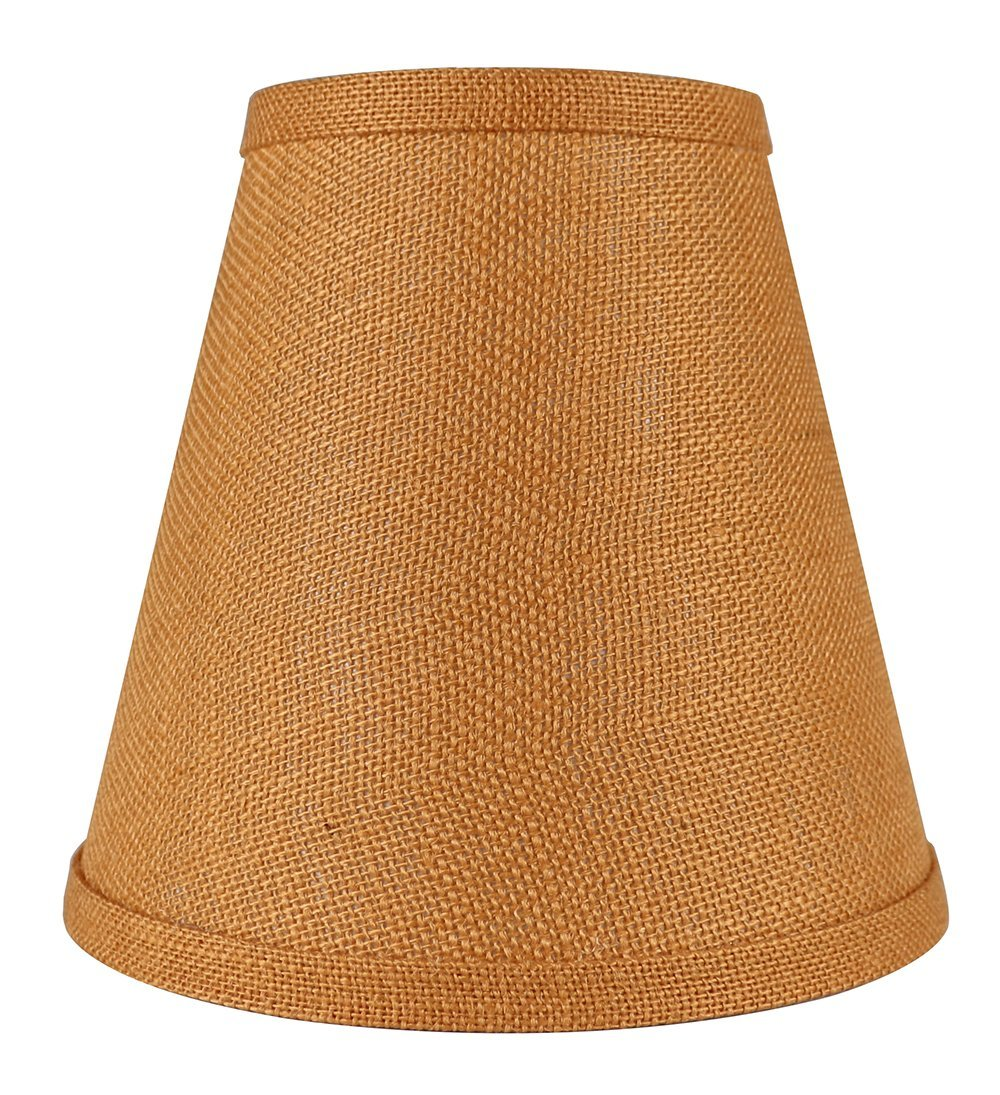 Primary image for Urbanest Hardback Burlap Empire Lamp Shade 5-inch by 9-inch by 8.5-inch, Tangeri