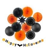 13pcs Halloween Decorations For Home Happy Halloween Black Orange Horror - $23.68