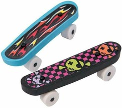 "Rubber Skateboard Erasers (12 Pack) 2 3/8"" - $9.49"