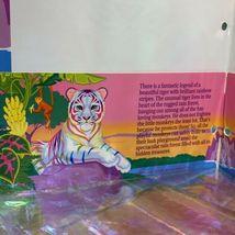 Lisa Frank Pocket Folder   Rainbow White Tiger Excellent Cond 90s Vintage image 4