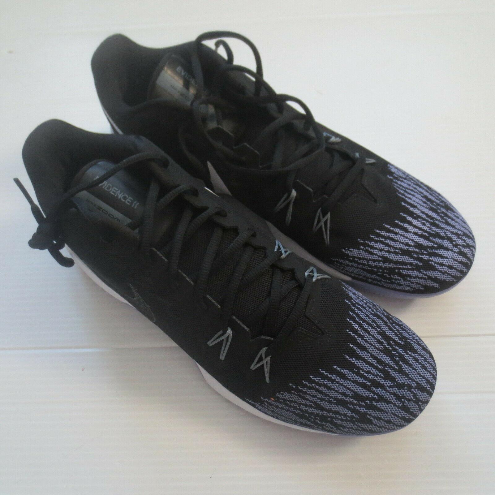 Nike Zoom Evidence II Shoes - 908976 - Black Lavender 105 - Size 14 - NEW
