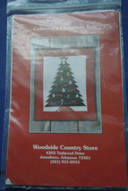 Woodside Country Store Collector's Christmas Tree Quilting Pattern - $3.99