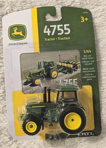 John Deere LP64449 ERTL 4755 Die Cast Metal Replica Tractor