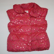 Gymboree Star Of The Show Sparkle Puffer Vest 5 6 - $16.99