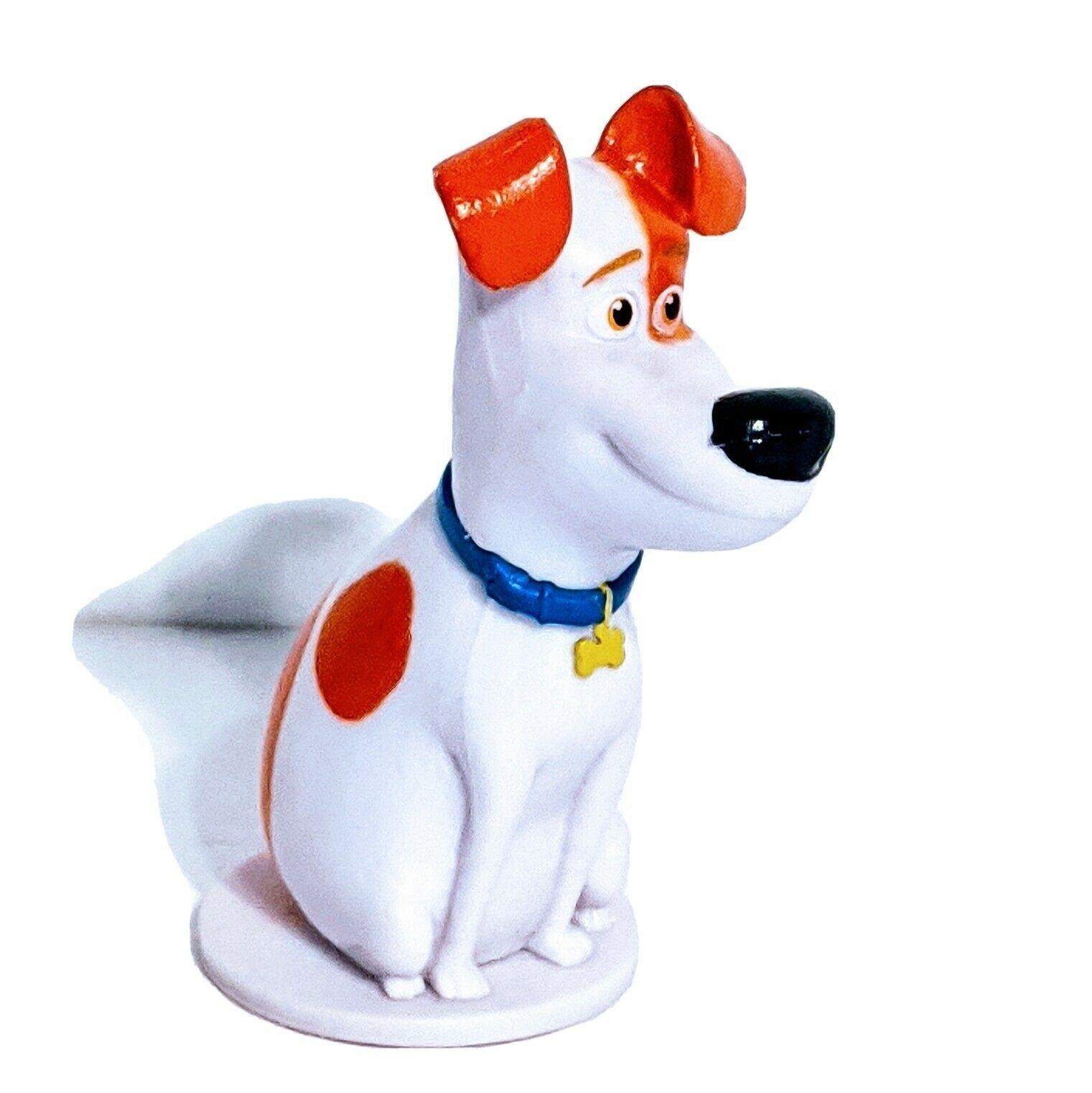 Universal Studios Secret Life of Pets Max PVC Figure Toy Cake Topper - $7.84