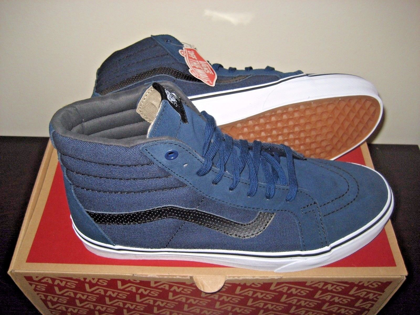 f477c9778a2e Vans Sk8-Hi Reissue Mens C P Dress Blues and 45 similar items. 57
