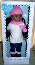 """Kaisley & Friends 18"""" AA Doll Brown Eyes in Winter Outfit New - $48.50"""