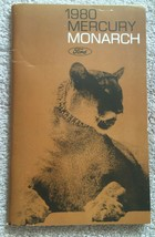 1980 Ford Motor Company Mercury Monarch Owners Manual - Booklet - $6.64