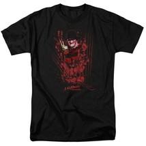 A Nightmare On Elm Street t-shirt Freddy Krueger retro horror graphic tee WBM554 image 1