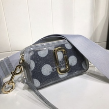 Marc Jacobs Jelly Snapshot Small Camera Bag Crossbody Bag Grey Multi - $219.00