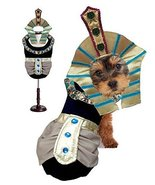 Puppe Love King MUTT Dog Costumes King TUT Egyptian Royalty Pharaoh Dogs... - $44.51