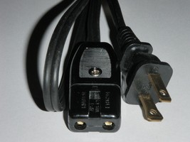 """Power Cord for Super Lectric Waffle Maker Model 180T (2pin 36"""") 188 - €11,31 EUR"""