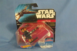 Toys Mattel NIB Hot Wheels Disney Star Wars Poes X Wing Fighter - $9.95