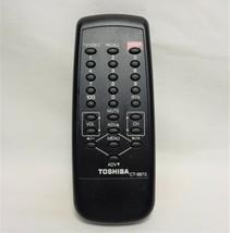 Toshiba CT-9873 Factory Original TV Remote CE20F10, CE19G10, CE19H15, CF13G22 - $8.89