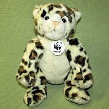 "12"" Build A Bear Wwf Leopard Stuffed Animal Plush Maxine Clark 2005 + Neck Tag - $24.75"