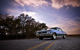 1966 Chevrolet Chevelle SS 24X36 inch poster, sports car, muscle car - $18.99