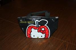 Women's Hello Kitty Apple Purse Hand Bag Plastic Cloth Cute - $6.89