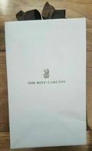 "Ritz Carlton - Small Paper Shopping Gift Bag 8.5"" x 5.25"" x 3.25"" - $10.71"