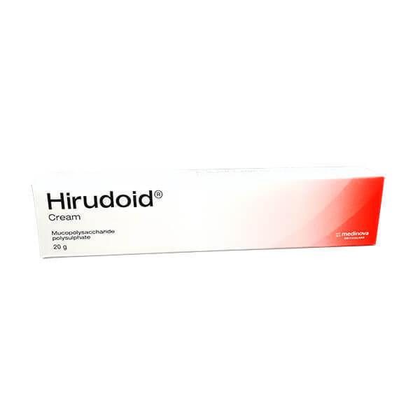 Hirudoid Cream For Scar & Stretch Mark Reducers Bruises Varicose Vein 20g , 40g.