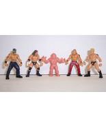 Loose 2006 Jakk's Micro Aggression 4pc Action Figure Set HBK- Mysterio W... - $9.89