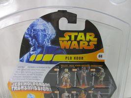 star wars revenge of the sith jedi hologram transmission plo koon figure image 4
