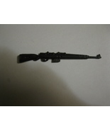 "Action Figure Weapon / Accessory: Black WW2 Rifle - 2.5"" - $3.00"