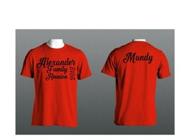 2018 Family Reunion Personalized Matching T-Shirts Child - Adult Color Choices - $14.01