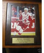 Great BRENDAN SHANAHAN Autograph NHL Picture Plaque - $54.45