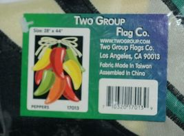 Two Group Flags Co 17013 Peppers Indoor Outdoor Decorative Banner image 3