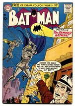 BATMAN #111-comic book DC SILVER-AGE-ARMORED BATMAN-1957-vf- - $442.56