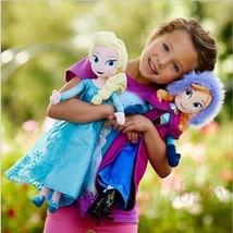 2017Christmas gift 40CM Disney Frozen Elsa&Anna princess stuffed Soft pl... - $19.99