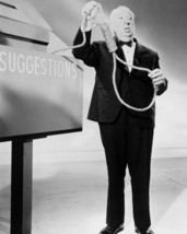 Alfred Hitchcock 16x20 Poster Holding Noose - $19.99