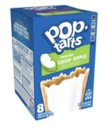 Apple Pop Tarts Toaster Pastries Frosted Crisp Apple 8 Count - $5.99
