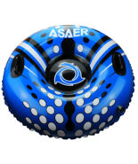 Asaer Snow Sled 1 Person Tube Air Tube 39 Inch Inflatable Snow Rapid Val... - $21.84