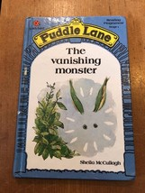 "1990s ""PUDDLE LANE - THE VANISHING MONSTER"" LADYBIRD BOOK (£1.30 NET)  - $2.29"