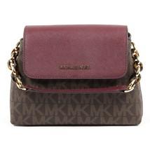 Brown ONE SIZE Michael Kors Womens Handbag PORTIA 35F7GPAL1B BRN PLUM - $227.30