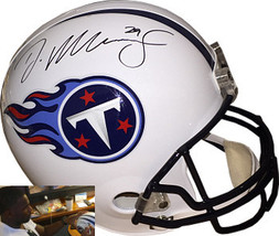 DeMarco Murray signed Tennessee Titans Riddell Full Size Replica Helmet #29- Mur - $109.95