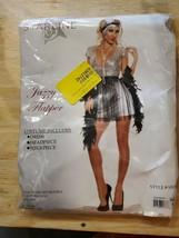 Starline1Women's Jazzy Flapper Sexy Roaring 20s 3 Piece Costume Dress Set - $49.00